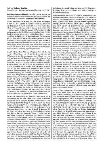 Rede von Wolfgang Blaschka für das Münchner Bündnis gegen ...