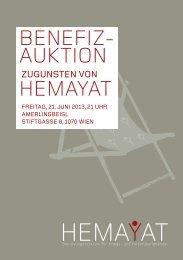 Auktionskatalog 2013 (PDF) - Hemayat