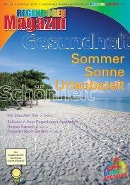 Sommer Sonne Urlaubszeit - Regenbogen Apotheke
