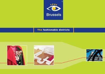 The fashionable districts - Brochures - Brussels