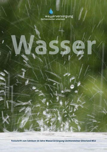 Festschrift zum Jubiläum 50 Jahre Wasserversorgung ...
