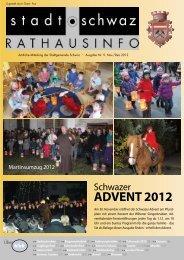 PDF Rathausinfo Nr. 9/2012 - Schwaz