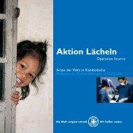 Aktion Lächeln in Kambodscha - Ärzte der Welt e.V.