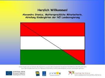 Ungarisch in Kindergärten - Präsentation von ... - EDUCORB