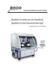 """""""Qualität ist nicht nur ein Standard, Qualität ist eine ... - MPLS"""