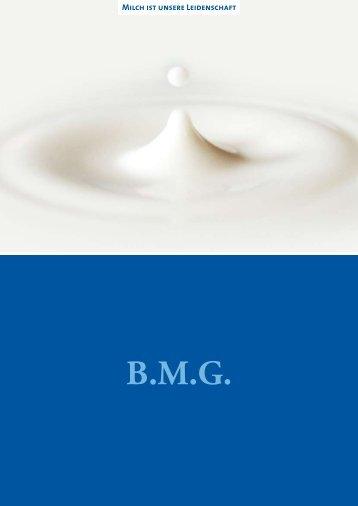 Unsere Broschüre - BMG Berliner Milcheinfuhr-Gesellschaft mbH