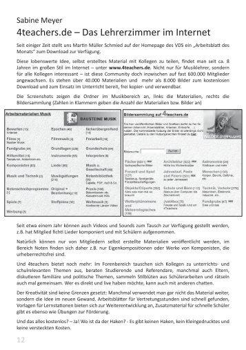 4teachers.de – Das Lehrerzimmer im Internet