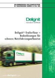 Delignit®-Trailerfloor – Bodenlösungen für schwere ... - VANyCARE
