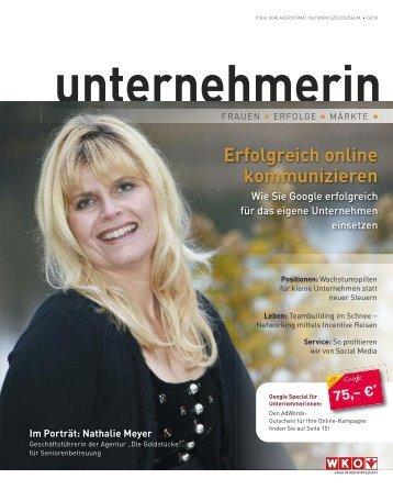 unternehmerin / Dezember 2010 - mobilistin