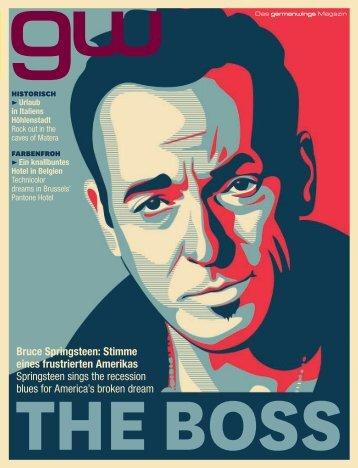 Bruce Springsteen: Stimme eines frustrierten Amerikas ... - Sextantio
