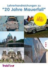 """20 Jahre Mauerfall"" - Noordhoff Uitgevers"