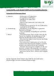 chaosspiel zur selbstverpflichtungserklärung - KJG ...