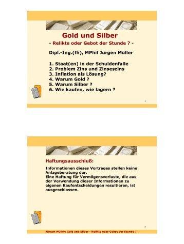 Gold und Silber - Einkaufsgemeinschaft für Gold und Silber GbR