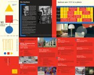 the bauhaus bauhaus year 2009 at a glance ... - Bauhaus 2019