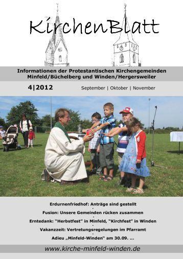 Download Kirchenblatt 4 / 12 - Gemeinde Minfeld