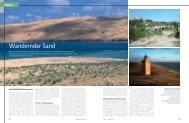 Wandernder Sand - marina.ch