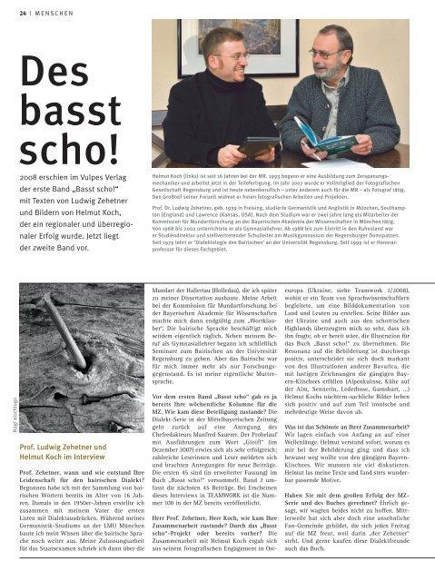 Interview - Ludwig Zehetner