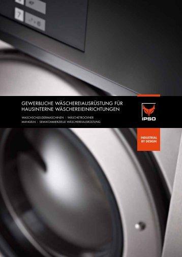 gewerbliche wäschereiausrüstung für hausinterne ... - Alliancels.eu