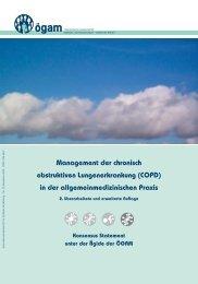 COPD 2009-MPE 2 - Österreichische Gesellschaft für Allgemein
