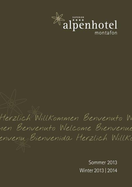 Aktueller Prospekt (PDF) - Alpenhotel Montafon