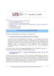 Rundbrief 01/2011 - Landespsychotherapeutenkammer Rheinland ...