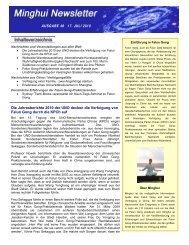 Die Jahresberichte 2010 der UNO decken die Verfolgung von Falun ...