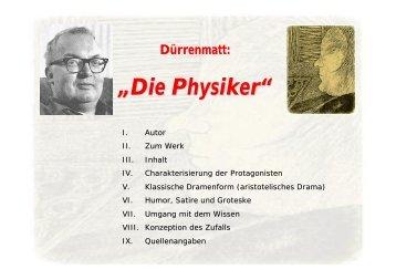 """Dürrenmatts """"Die Physiker"""" - SNEAKER"""