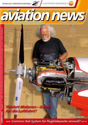 Thielert-Motoren – Gefahr für die Luftfahrt? - Verband der ...