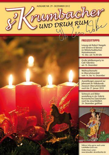Heft 29 - Ausgabe Dez. 2012