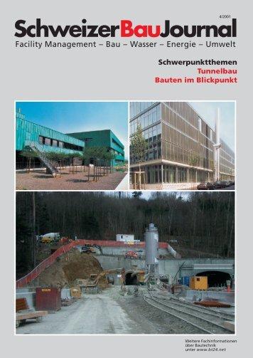 SchweizerBauJournal - Stücheli Architekten