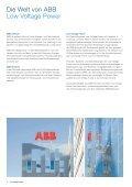 Low Voltage Power Die Energie unserer Mitarbeitenden fliesst in die ... - Seite 2