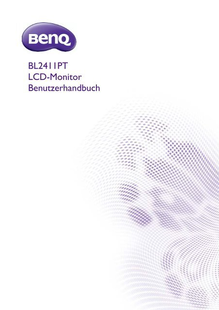 Download Bedienungsanleitung BenQ BL2411PT - TFTshop.net