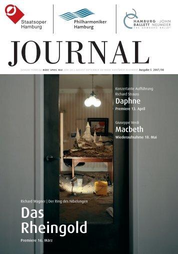 Journal 5 - Hamburg Ballett