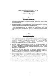 Einkaufsbedingungen - THELEICO Schleiftechnik GmbH & Co. KG