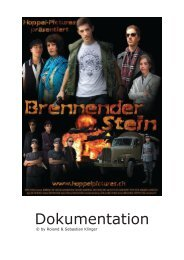 Making-Of-Dokumentation als PDF - Hoppel-Pictures