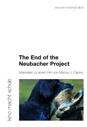 The End of the Neubacher Project - Kino macht Schule