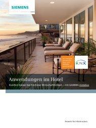 GAMMA Anwendungen im Hotel - Siemens