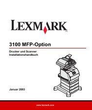 3100 MFP-Option - Lexmark
