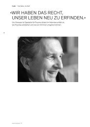 Interview mit Dr. Urs Honauer in männer