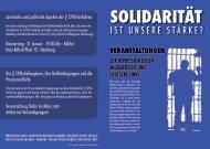 Flyer – Solidarität ist unsere Stärke ? (als PDF) - Projekt ...