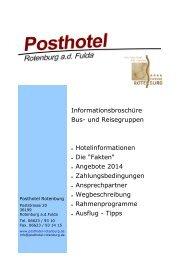 Busmappe 2014 - Göbel Hotels