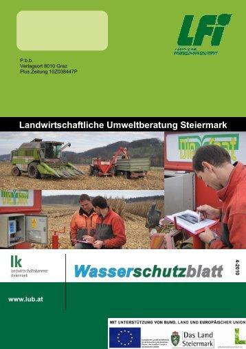 Landwirtschaftliche Umweltberatung Steiermark