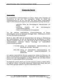 Erläutender Bericht - Stadtgemeinde Bozen