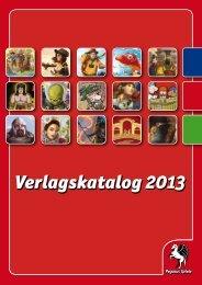 Pegasus Verlagskatalog Katalog 2013 - Pegasus Spiele