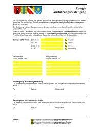Ausführungskontrolle, Vollzugsformular des Kt ... - Gemeinde Glarus