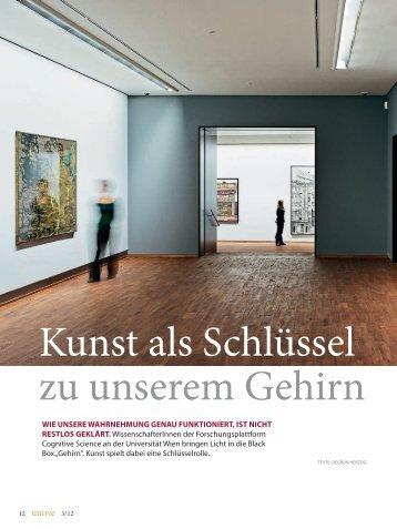 Kunst im Kopf - Universität Wien