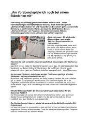 Medienbericht Juni VI - Interview mit OK ... - Jodlerfest Reiden