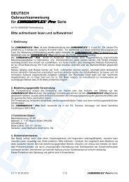 Bedienungsanleitung - Barthelme Gmbh & Co. KG