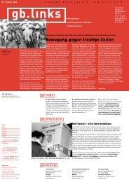 Nr. 1 Januar - Grünes Bündnis Bern