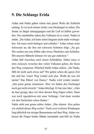 Leseproben downloaden (PDF, 144 KByte) - Aidan und Nadia